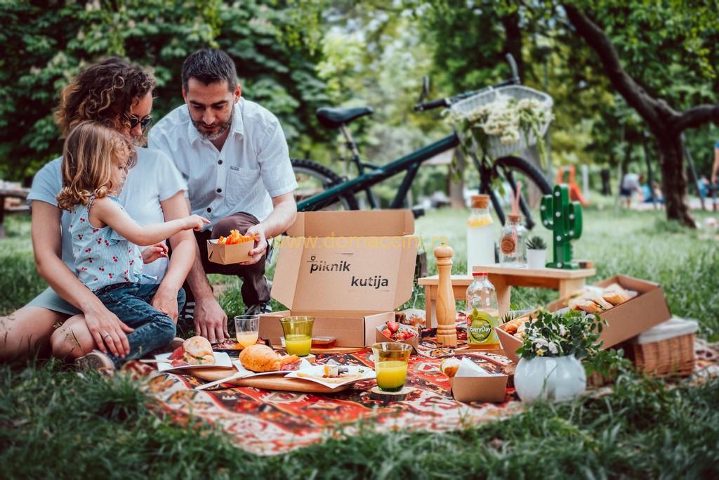 Piknik kutija porodicna, domaca hrana za porodicni izlet