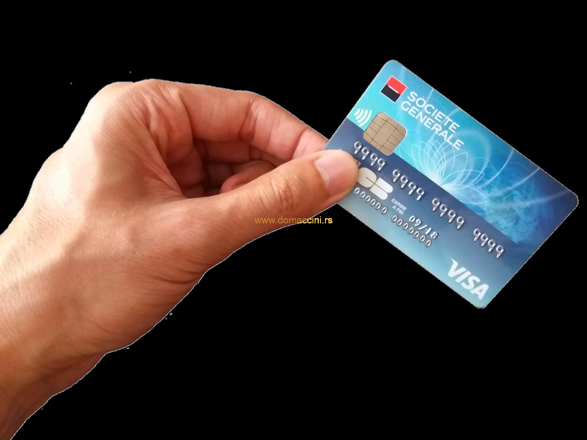 kako da platite karticom