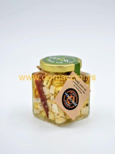 GORSKI beli kozji sir u maslinovom ulju