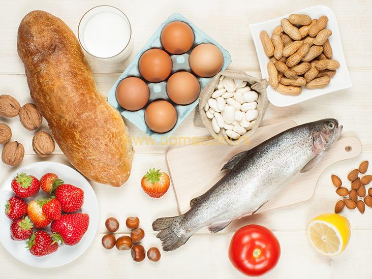 Restorani i dostave hrane moraju da obeleže alergene